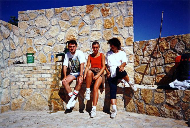 Camino Francés, Fuente de Praotorre, 12-8-1994