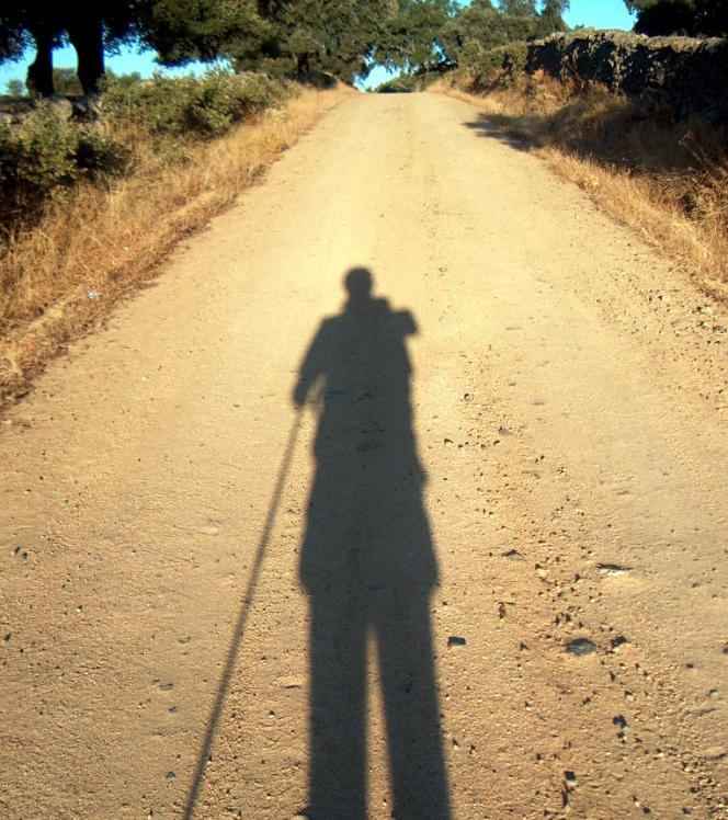 Vía de la Plata, Saliendo de Monesterio, 20-8-2004
