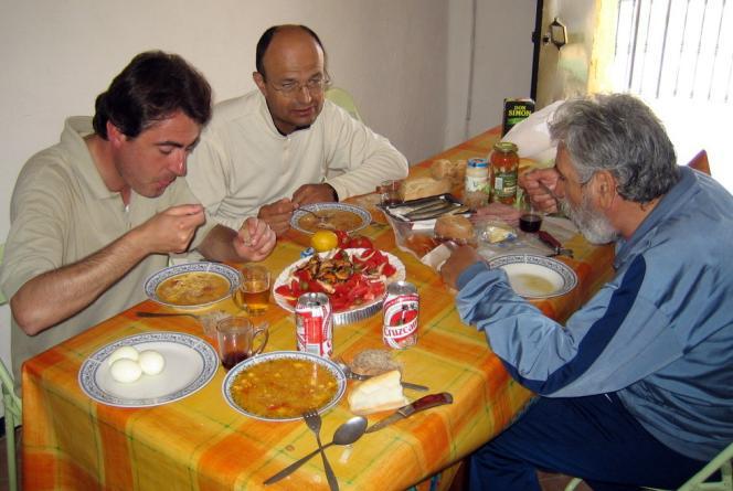 Vía de la Plata, El Real de la Jara, 10-4-2006