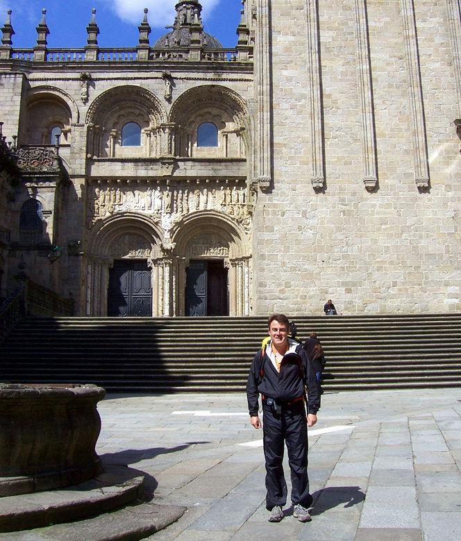 Vía de la Plata, Santiago de Compostela, 6-4-2013